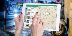 GPS on Tablet in public